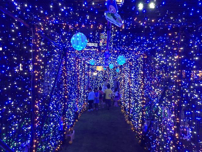 Hamura Illumination festival event 2016 Tokyo Hamura city attraction tourist spot Tama Tourism Promotion - Visit Tama はむらイルミネーション 東京都羽村市 イベント 祭り 観光スポット