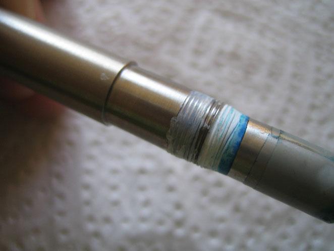 Abb. 5: mit Dichtband zur einstellbaren Null-Lage