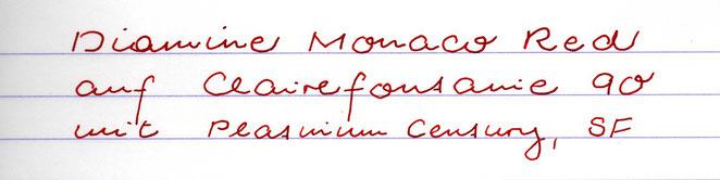 Passen sehr gut zueinander: Monaco Red und Platinum