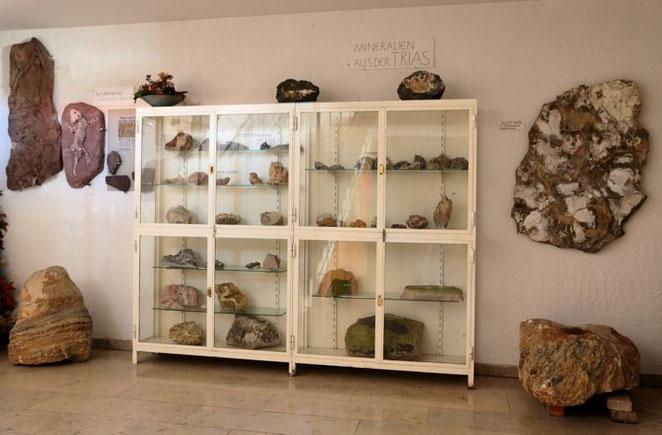 Mineralien aus der Trias