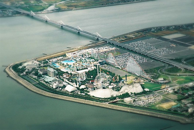 Nagashima Spa land Source: wikipedia