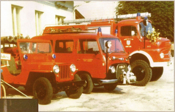 Gruppenbild 1976