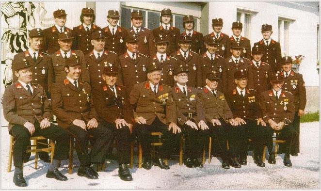Mannschaftsfoto aus dem Jahr 1976