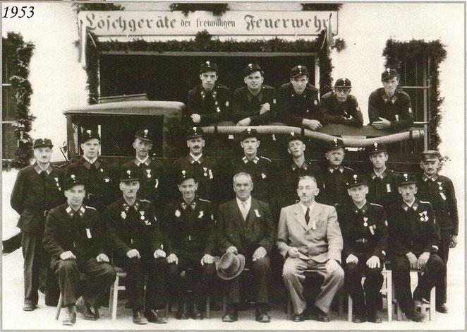 Mannschaftsfoto aus dem Jahr 1953