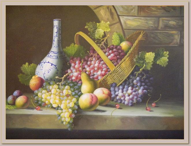 Weintrauben  -  91 x  61 cm  -  320,- €