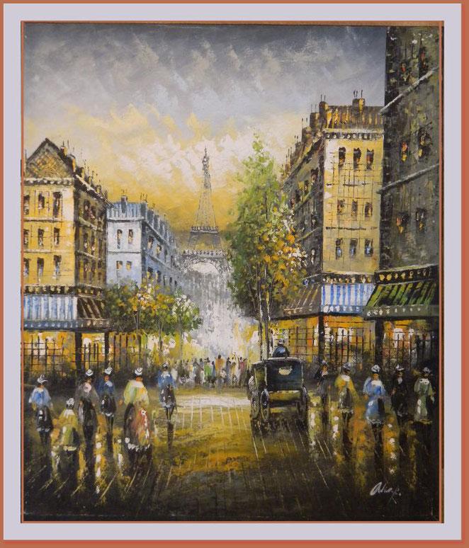 Eiffelturm b - - - Das Gemälde Eiffelturm groß ist noch in Bearbeitung