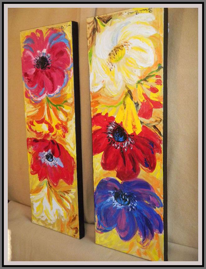 Blüten-Stelen