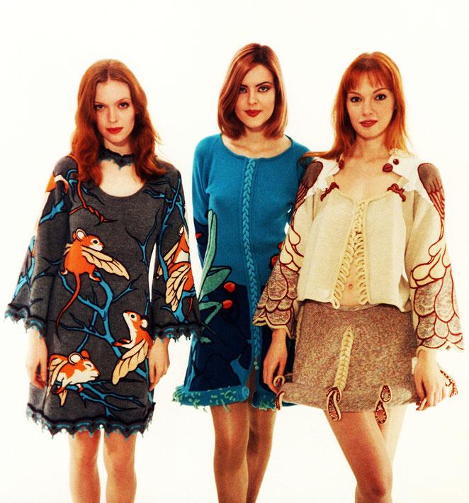 Alexander Seraphim's knitwear, 1995