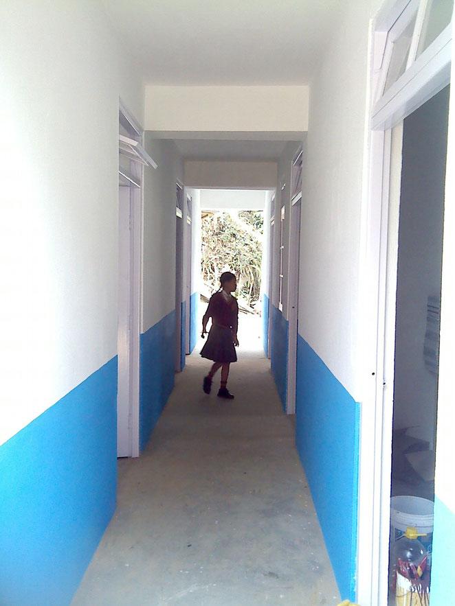 Corridor inside. February 2014