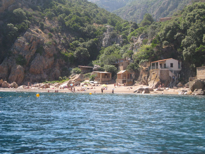 Anse la Ficajola, Porto, Piana, Westküste Korsika