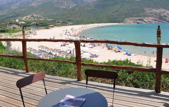 Plage d'Arone, Piana, Westküste Korsika