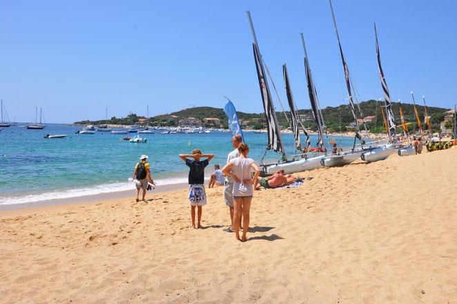 Porto Pollo, Westküste Korsika