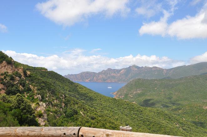 Westküste Korsika