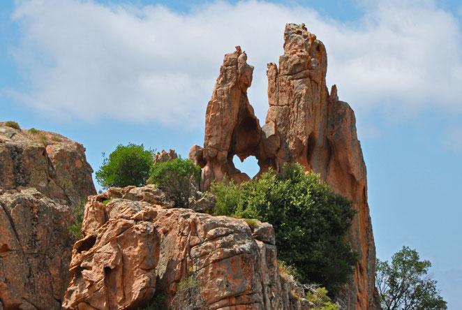 Les Calanches, Piana, Porto, Westküste Korsika