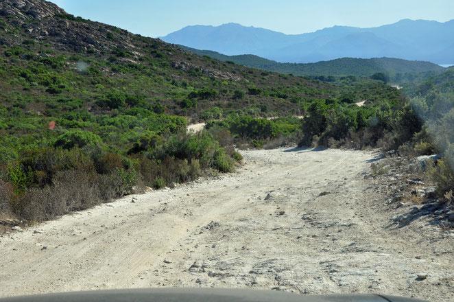 Desert d'Agriates, Agriates-Wüste, Agriates