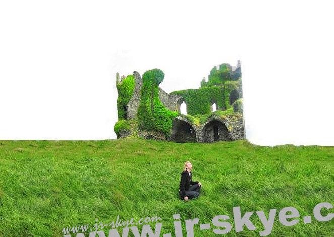 The Unforgettable Fire, Part II - das etwas düstere Ballycarbery Castle, Cahersiveen/Kerry...