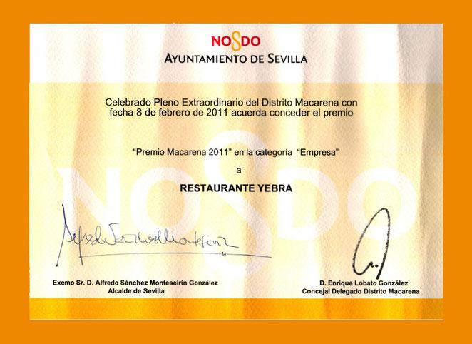 Premio Ayuntamiento de Sevilla