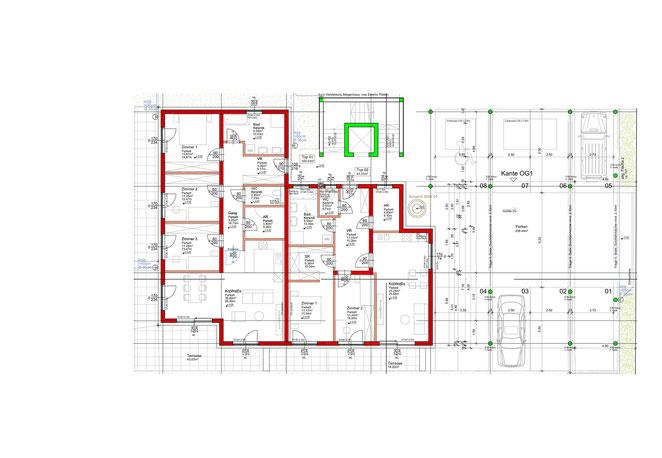 Erdgeschoss - Gesamtanlage
