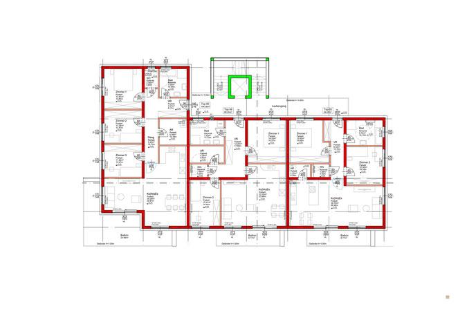 1. Obergeschoss - Gesamtanlage