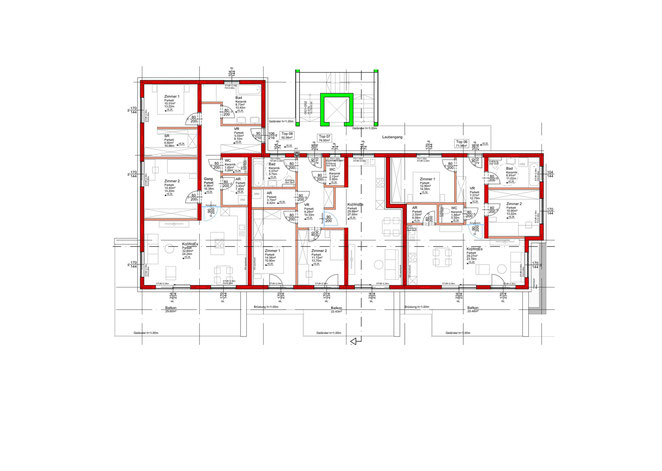 2. Obergeschoss - Gesamtanlage