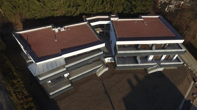 Reiter GmbH - energiebaumeister.at, Drohnenflug III kurz vor Übergabe, Dezember 2016