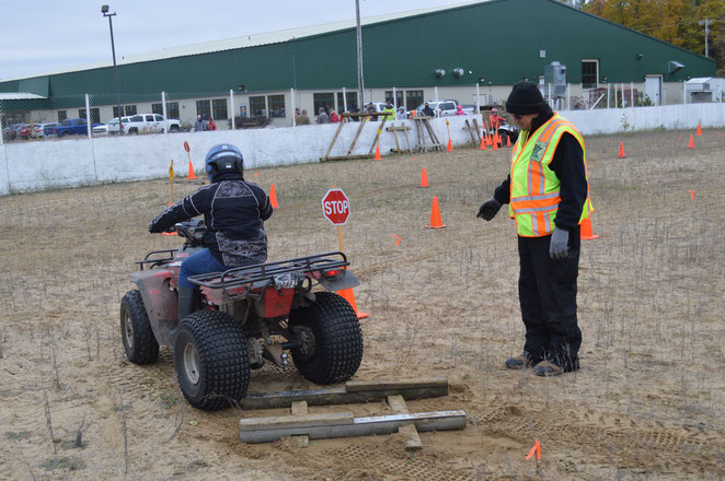 Our club's many DNR-certified ATV Safety Instructors hold classroom and hands-on training, helping hundreds of young riders obtain their ATV Certification.
