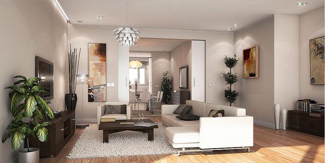 Render 3d interior vivienda, render 3d max, vray