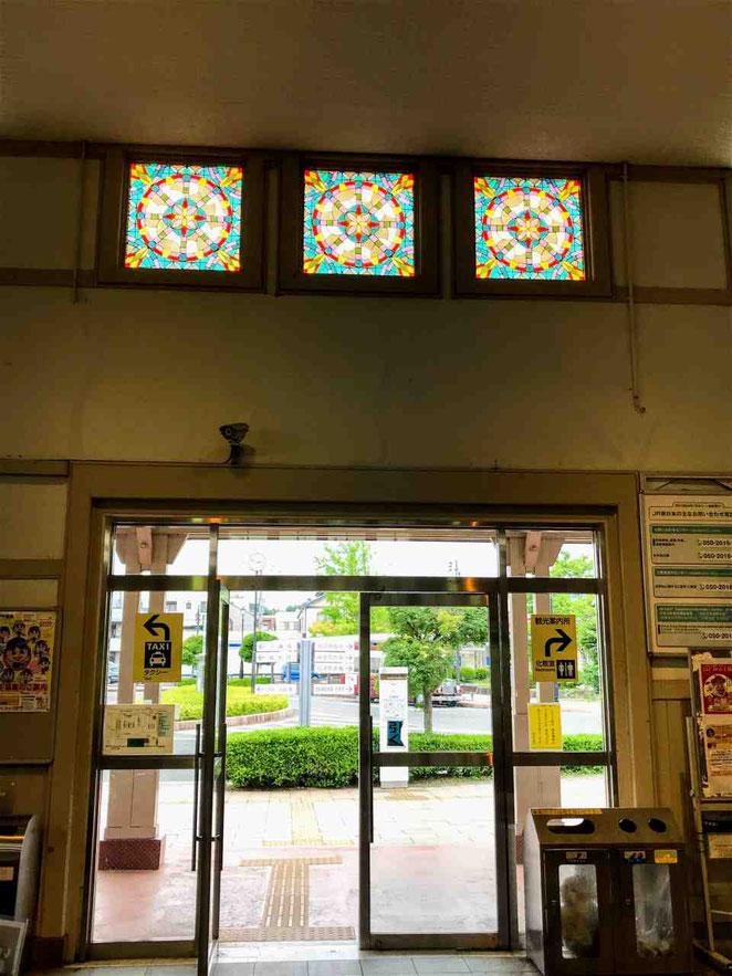 JR白河駅と「えきかふぇSHIRAKAWA」