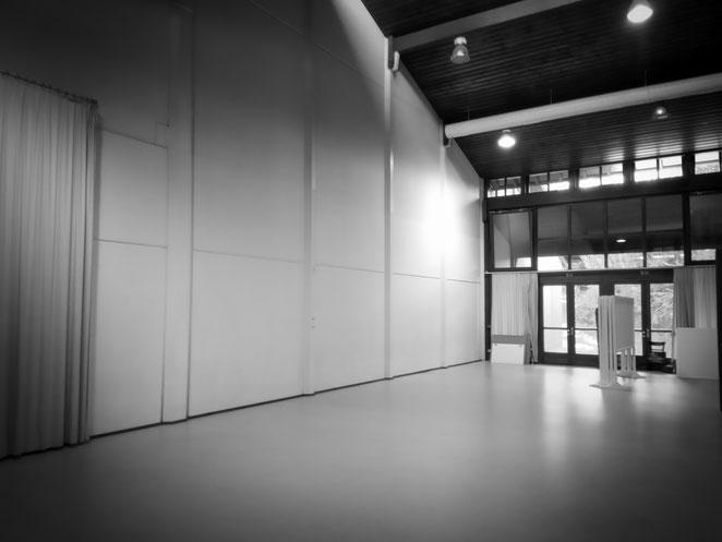 Die leere Basis für unsere Ausstellung