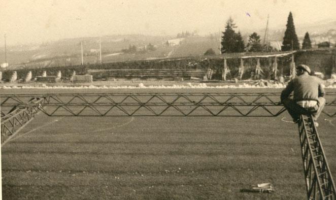 1962 Copertura della tribuna