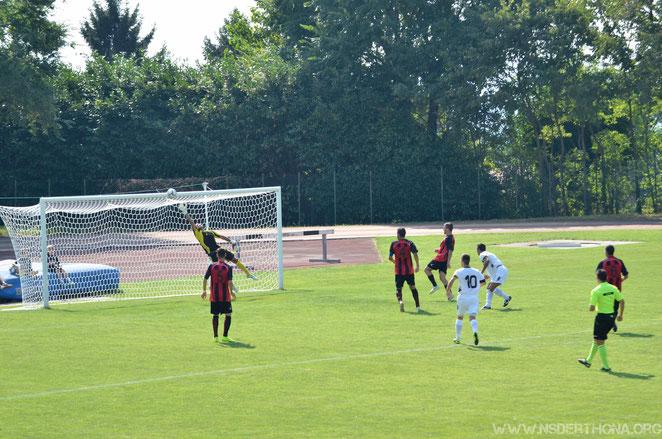 2014-15 Derthona-Argentina Gol di Baudinelli