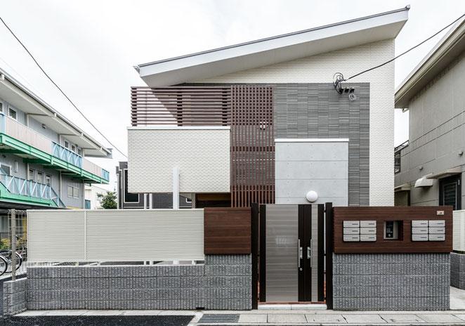 2015年7月28日竣工 パルゼ武蔵浦和外観写真