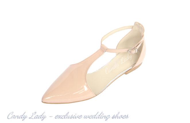 свадебные туфли балетки айвори Candy Lady Киев Москва Сочи Питер Днепропетровск