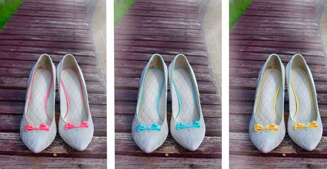 цветные свадебные туфли Киев Москва, кружевные туфли с бантом Киев Москва Харьков Одесса