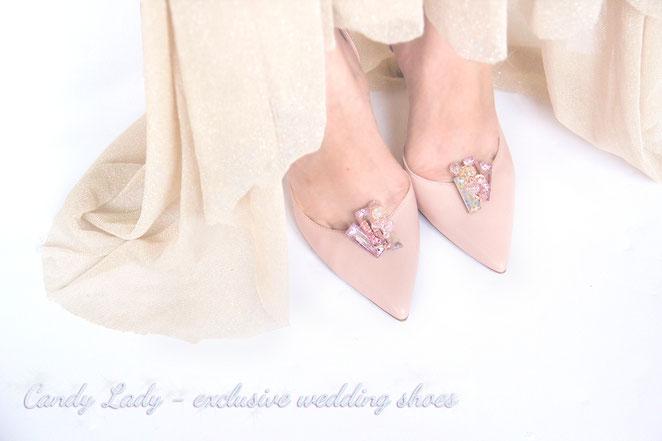 свадебные туфли пудра айвори Candy Lady Киев Москва Сочи Питер