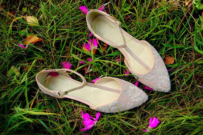 Свадебные балетки Киев, свадебные туфли купить