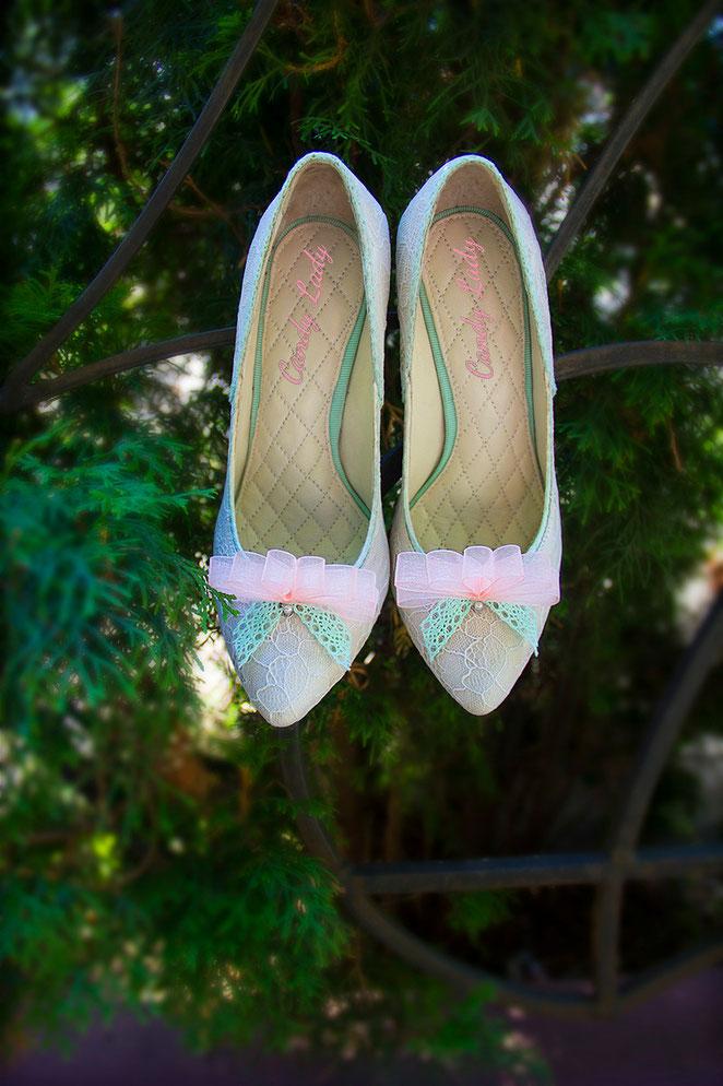 luxury wedding pump shoes кружевные свадебные туфли Киев Москва