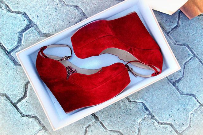 свадебные туфли на платформе балетки бордо Киев Днепропетровск Сочи Москва Питер