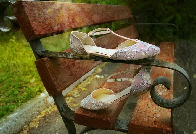 Балетки, свадебные балетки