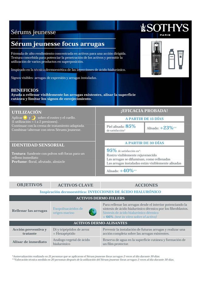 Comprar serums sothys online, comprar sothys, comprar sothys online, serum jeunesse focus arrugas.