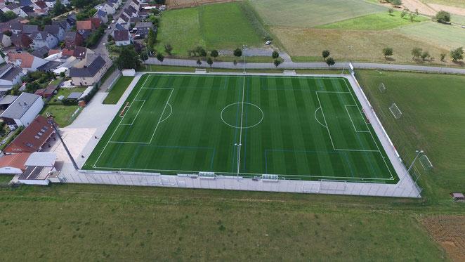 Sportplatz Kinzenbach SG Kinzenbach Heuchelheim