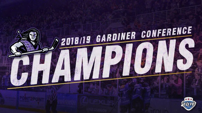 Glasgow Clan Gardiner Conference Champions 2018/19!