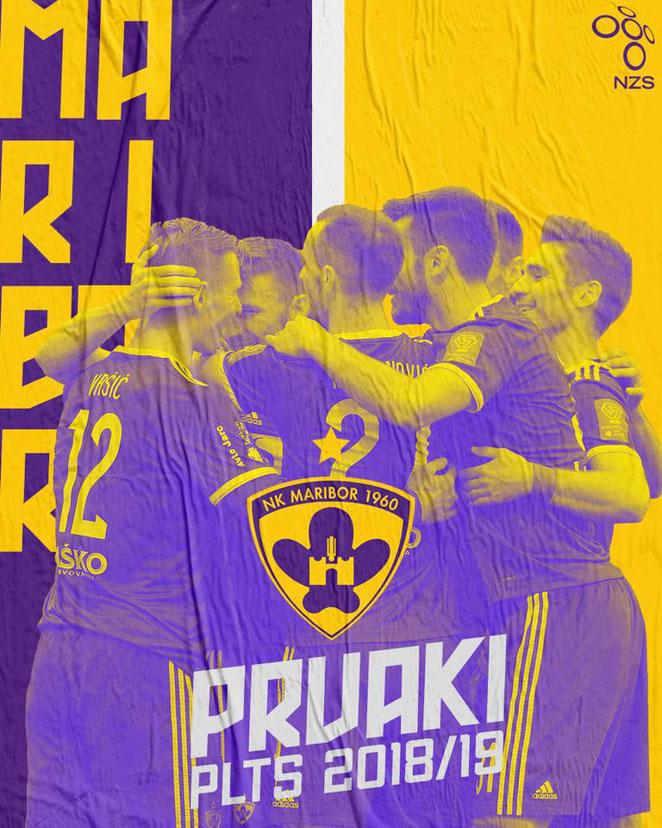 NK Maribor | Slovenian Champions 2018-19