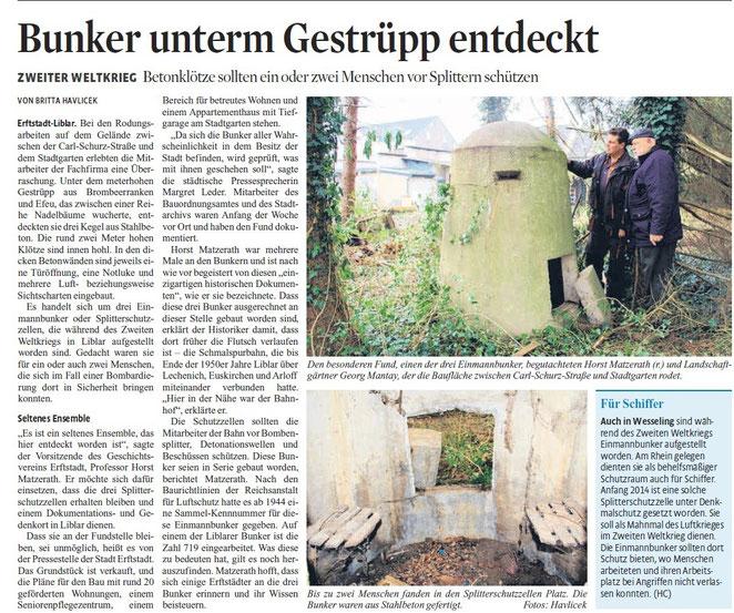 16.10.2015 Kölner Stadtanzeiger