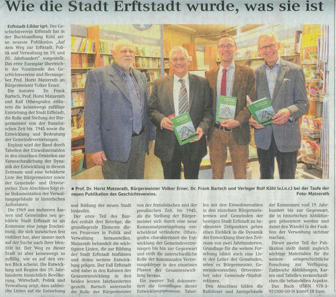 4.11.2015 Erftstadt Anzeiger