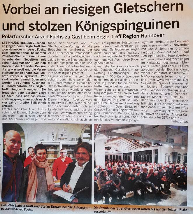 Stadtanzeiger Wunstorf, 16.03.2019