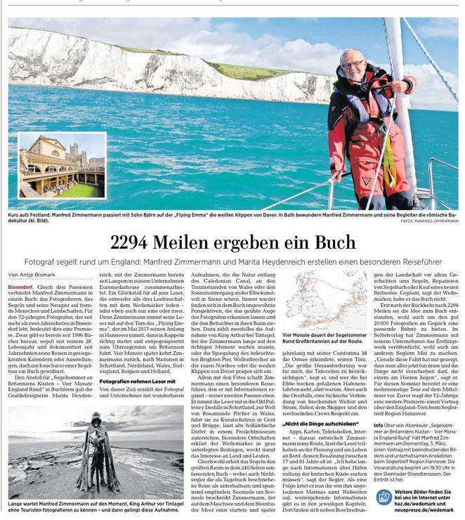 www.m.haz.de, Lokalausgabe Langenhagen, Wedemark , 24.02.2020