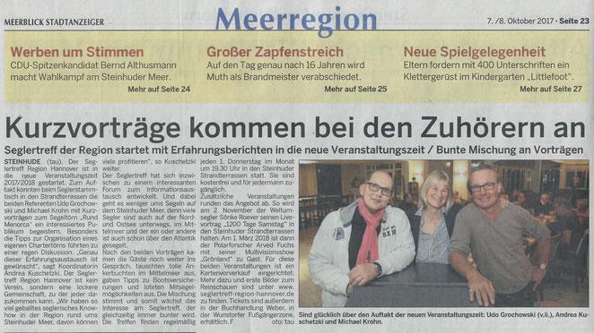 Wunstorfer Stadtanzeiger, 7.10.2017