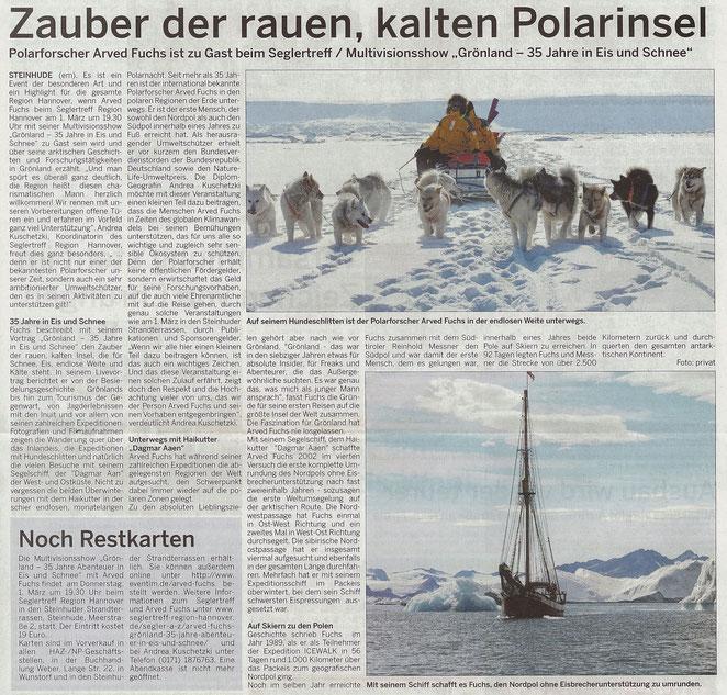 Wunstorfer Stadtanzeiger, 10./11. Februar 2018