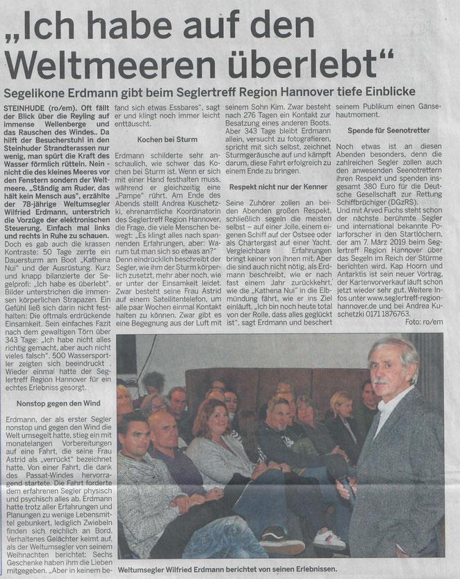 Wunstorfer Stadtanzeiger, 18.11.2018